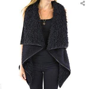Love Tree Faux Fur Vest